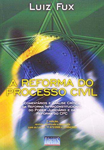 9788576262992: REFORMA DO PROCESSO CIVIL, A