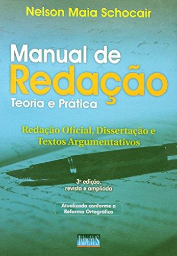9788576263630: Manual de Redação. Teoria e Pratica (Em Portuguese do Brasil)