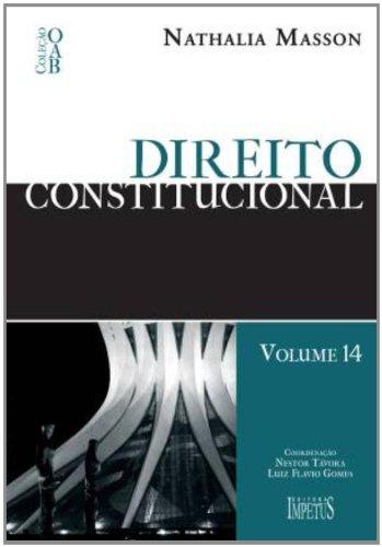 9788576266334: Direito Constitucional - Volume 14 (Em Portuguese do Brasil)