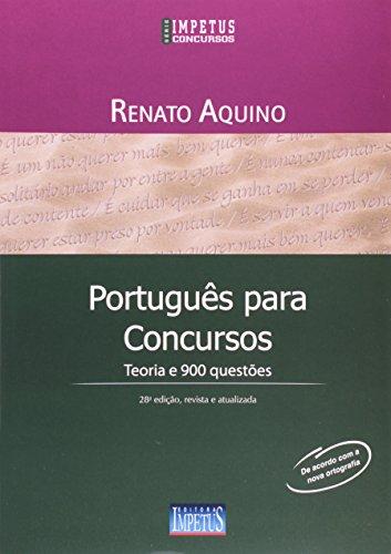 9788576266556: Português Para Concursos. Teoria e 900 Questões (Em Portuguese do Brasil)