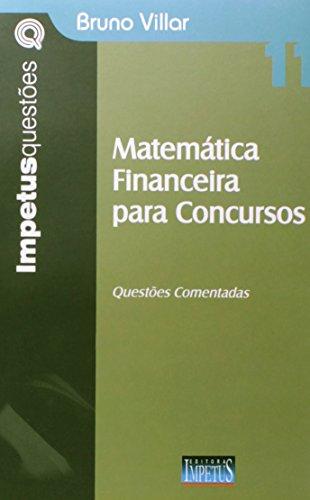 9788576266976: Matematica Financeira Para Concursos