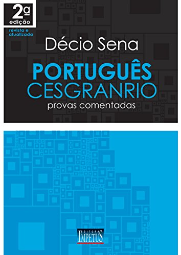 9788576267010: Portugues Cesgranrio: Provas Comentadas