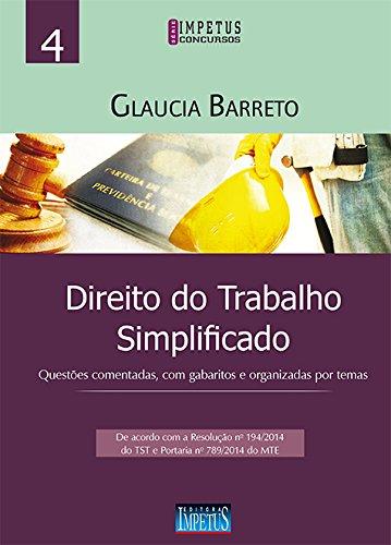 9788576267980: Direito do Trabalho Simplificado - Serie Impetus Concursos