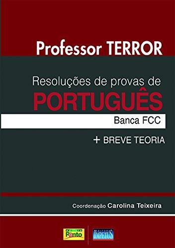 9788576268116: Resolucoes de Provas de Portugues: Banca Fcc