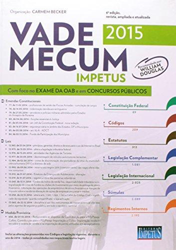 9788576268277: Vade Mecum Impetus Para OAB e Concursos 2015 (Em Portuguese do Brasil)