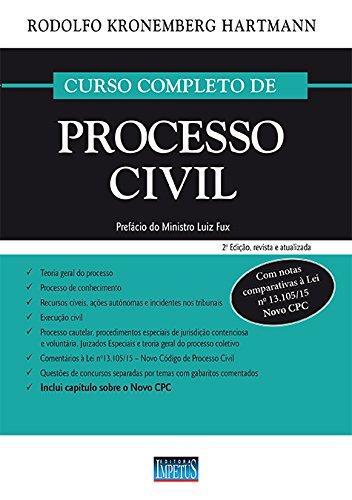 9788576268291: Curso Completo de Processo Civil