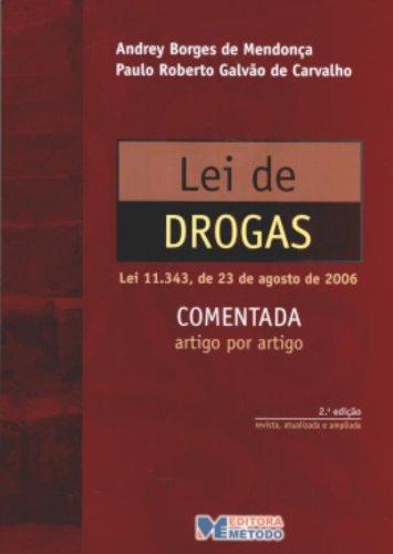 9788576602187: Lei De Drogas - Comentada (Em Portuguese do Brasil)