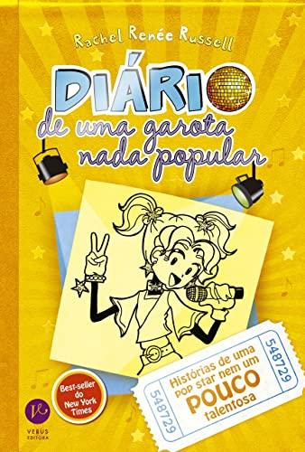 9788576861775: Diario De Uma Garota Nada Popular, V.3 Historias De Uma Pop Star Nem Um Pouco Talentosa