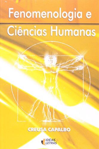 9788576980223: Fenomenologia e Ciencias Humanas