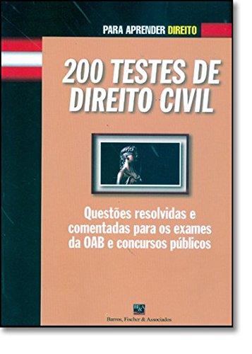 9788577111114: 200 Testes de Direito Civil (Em Portuguese do Brasil)