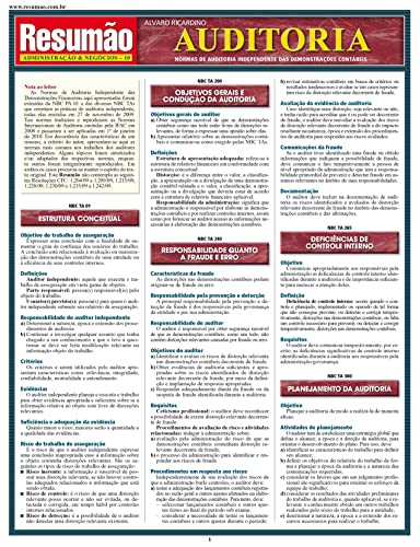 9788577111398: Auditoria - Colecao Resumao Administracao & Negocios