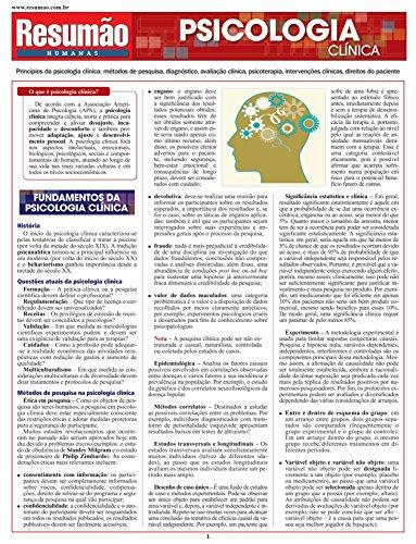 9788577112487: Psicologia Clínica