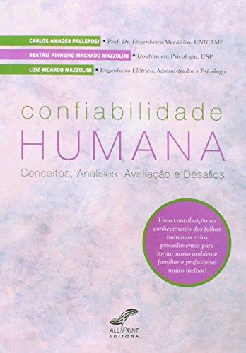 9788577189830: Confiabilidade Humana: Conceitos, Analises, Avaliaao e Desafios