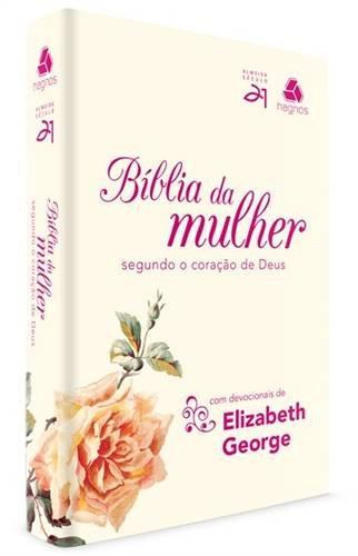 9788577421343: Bíblia da Mulher Segundo o Coração de Deus - Capa Roseira (Em Portuguese do Brasil)