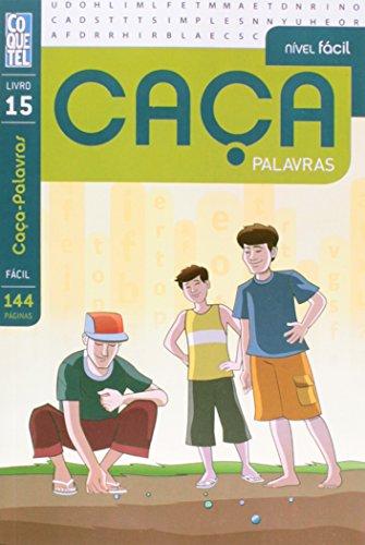 9788577487547: Caça Palavras. Nível Fácil - Livro 15 (Em Portuguese do Brasil)