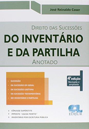 9788577541317: Direito das Sucessões do Inventário e da Partilha Anotado (Em Portuguese do Brasil)