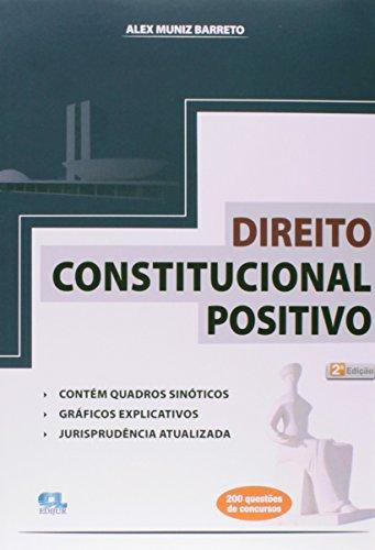 9788577541324: Direito Constitucional Positivo