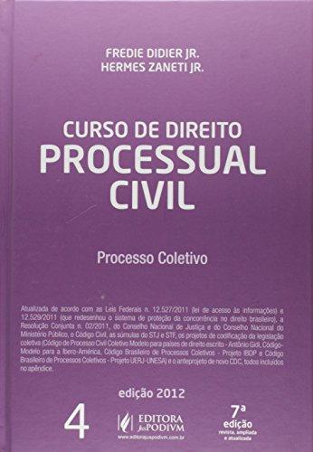 9788577614448: Curso De Direito Processual Civil - Vol.4