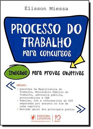 9788577618231: Processo Do Trabalho Para Concursos Publicos (Em Portuguese do Brasil)