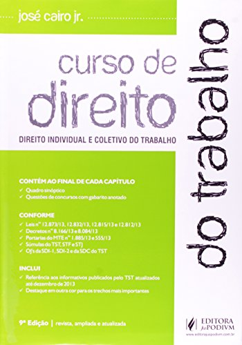 9788577618958: Curso de Direito do Trabalho (Em Portuguese do Brasil)