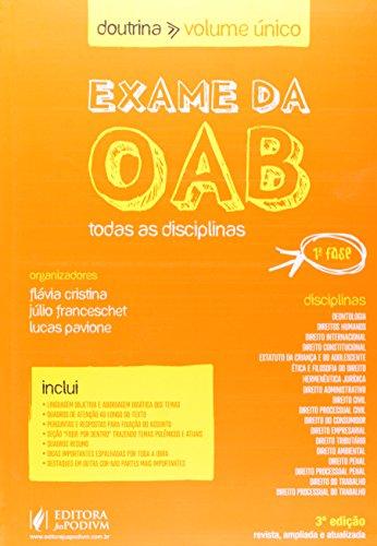 9788577619153: Exame Da Oab - Doutrina
