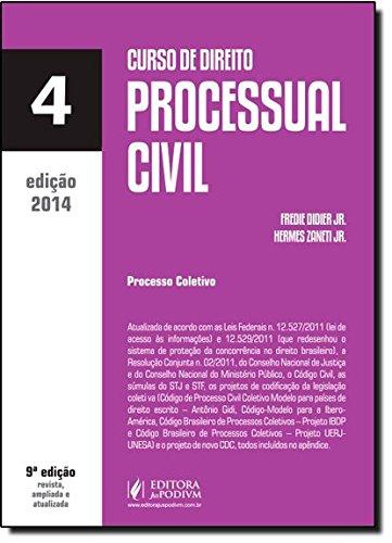 9788577619382: Curso De Direito Processual Civil - Volume 4