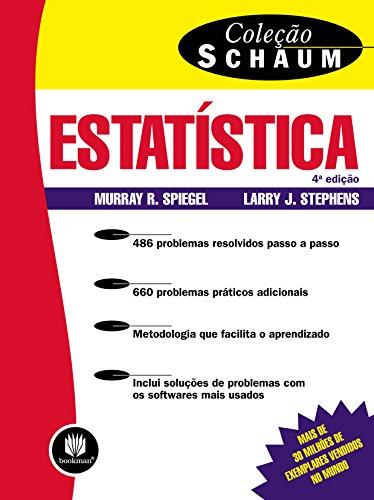 9788577804610: Estatística - Coleção Schaum (Em Portuguese do Brasil)