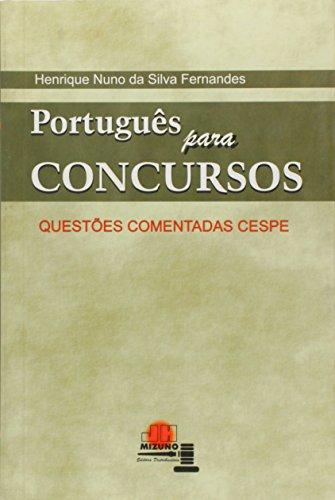 9788577890576: Portugues Para Concursos: Questoes Comentadas Cespe