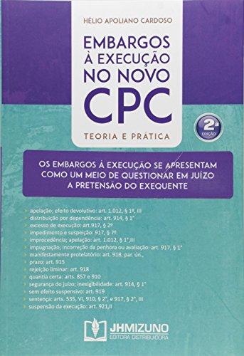 9788577892518: Embargos à Execução no Novo CPC (Em Portuguese do Brasil)