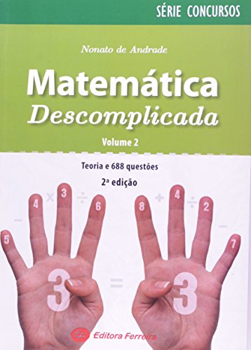 9788578421526: Matemática Descomplicada - Volume 2. Série Concursos (Em Portuguese do Brasil)