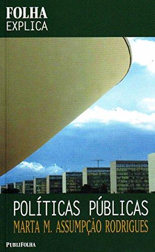 9788579141539: Políticas Públicas Coleção Folha Explica (Em Portuguese do Brasil)