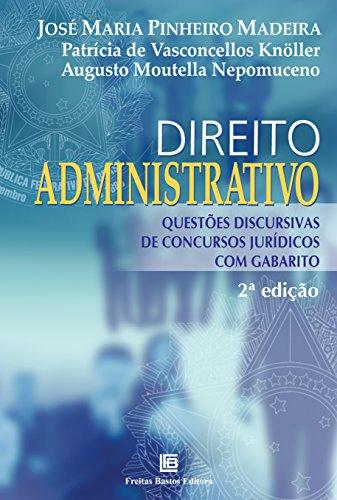 9788579872112: Direito Administrativo: Questoes Discursivas de Concursos Juridicos com Gabarito