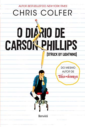 9788582400241: Diario de Carson Phillips - Struck By Lightning (Em Portugues do Brasil)