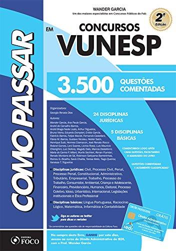 9788582420935: Concursos Vunesp