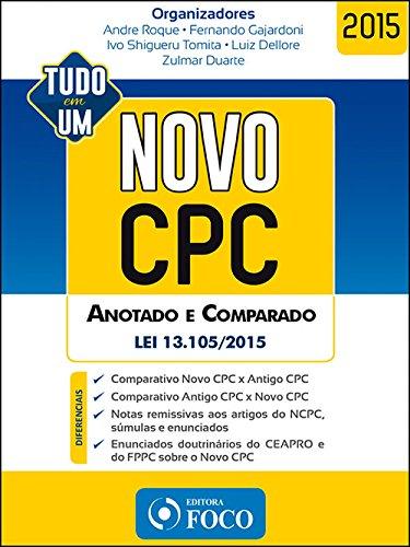 9788582421239: Novo Cpc: Anotado e Comparado