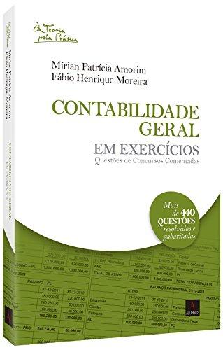 9788584230440: Contabilidade Geral em Exercícios (Em Portuguese do Brasil)