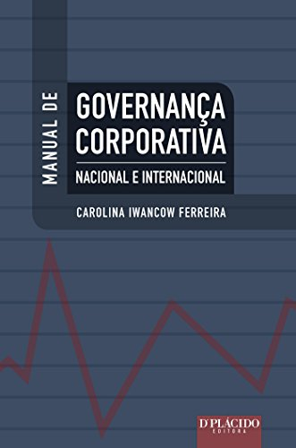 9788584250424: Manual de Governanca Corporativa Nacional e Internacional