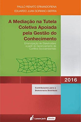 9788584404568: A Mediação na Tutela Coletiva Aplicada Pela Gestão do Conhecimento (Em Portuguese do Brasil)