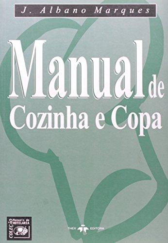9788585575786: Manual de Cozinha e Copa