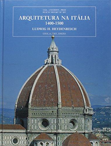 9788586374111: Arquitetura na Itália 1400-1500