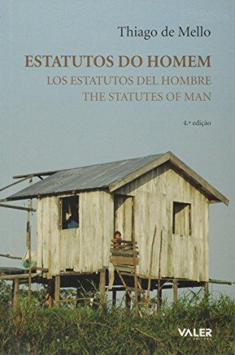 Estatutos Do Homem: Thiago de Mello