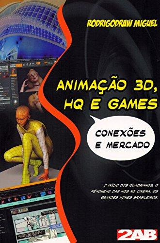 9788586695483: Animacao 3d, Hq e Games