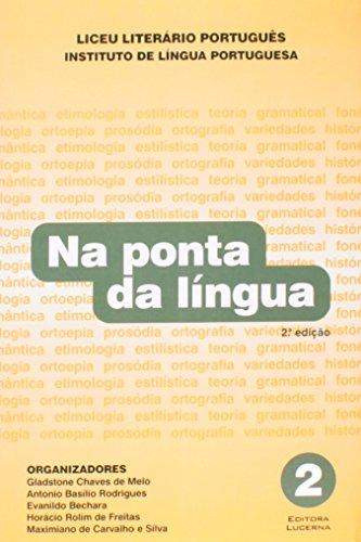 9788586930119: Na Ponta Da Lingua - Volume 2 (Em Portuguese do Brasil)