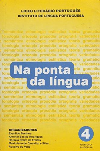 9788586930195: Na Ponta Da Lingua