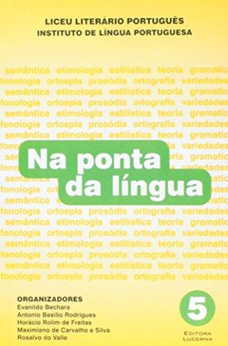 9788586930263: Na Ponta Da Lingua - Volume 5 (Em Portuguese do Brasil)