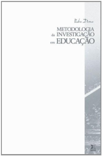 9788587053541: Metodologia Da Investigacao Em Educação