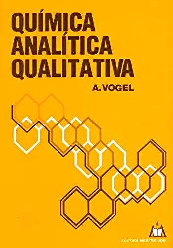 9788587068019: Quimica Analitica Qualitativa