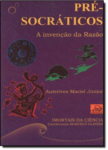 9788588023826: Pre- Socraticos Segunda Edição
