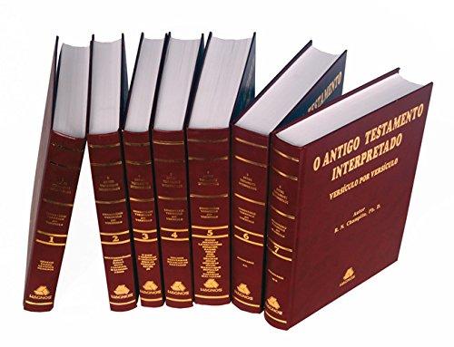9788588234147: Antigo Testamento Interpretado - Versiculo Por Versiculo (Em Portuguese do Brasil)