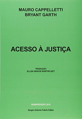 9788588278295: Acesso a Justica